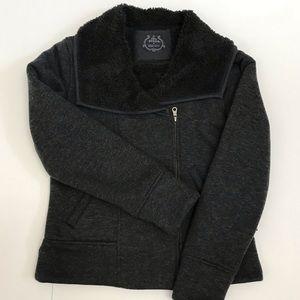 Prana Jacket Size Medium Fleece Lined Full Zip